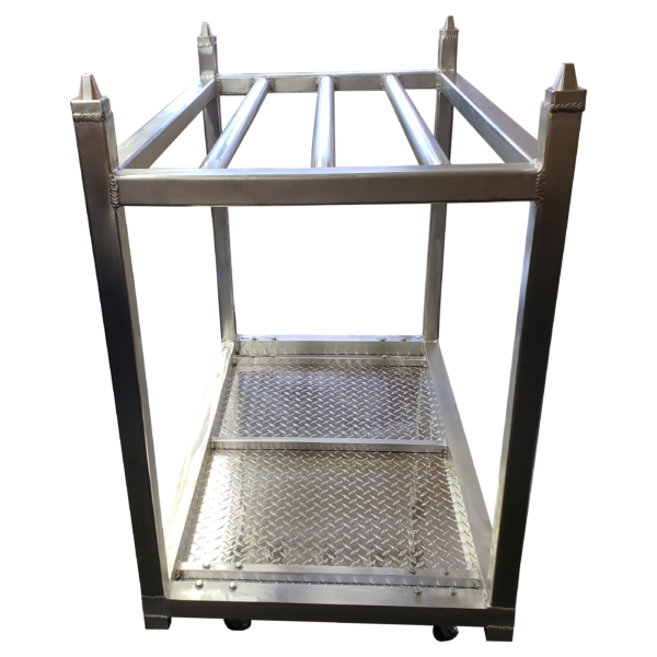 Meat Rack - End View